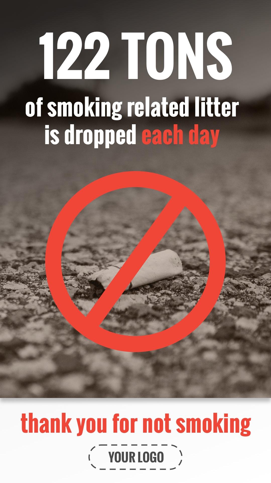 Smoking Waste Portrait