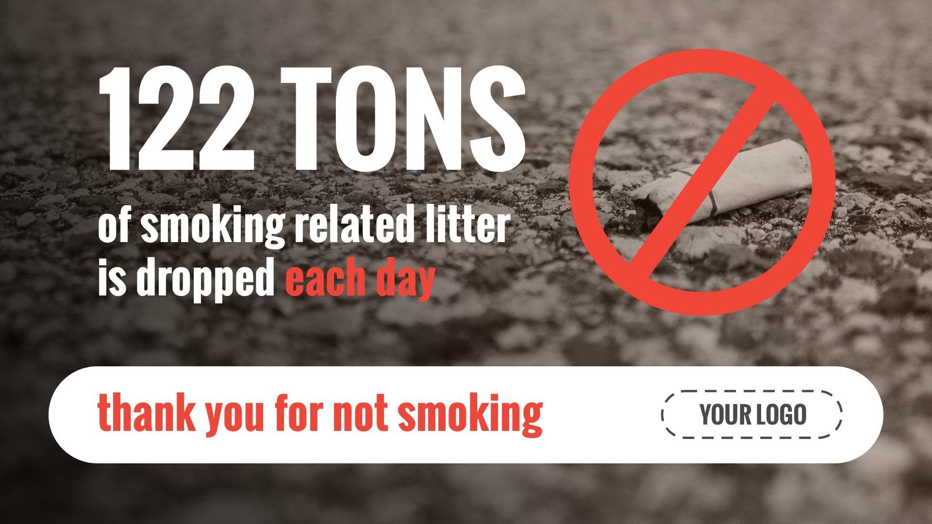 Smoking Waste Template