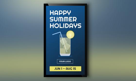 Summer Holidays Portrait