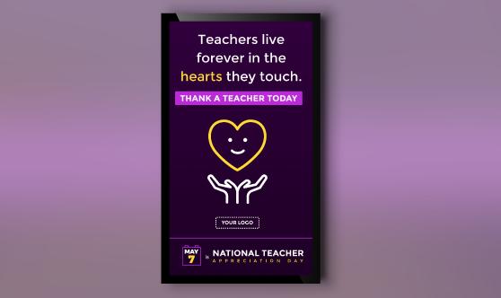 Teacher Appreciation Day Portrait