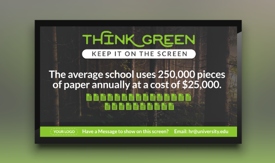 Think Green School
