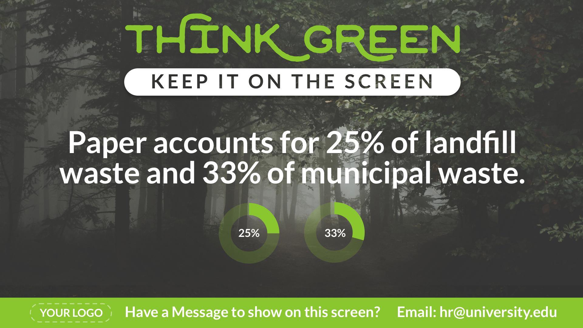 Think Green Waste