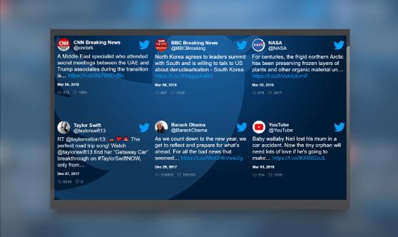 Twitter Grid