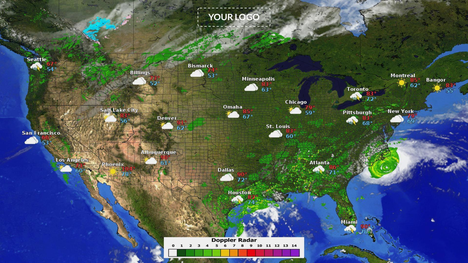 Weather Maps Widget
