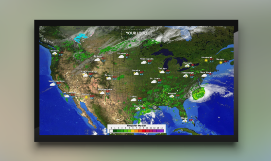 Weather Maps Widget
