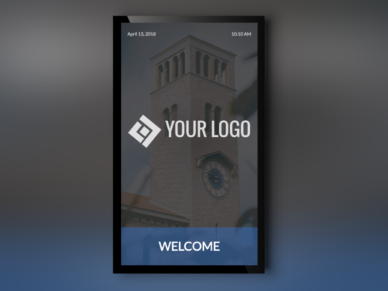 Welcome Portrait Template
