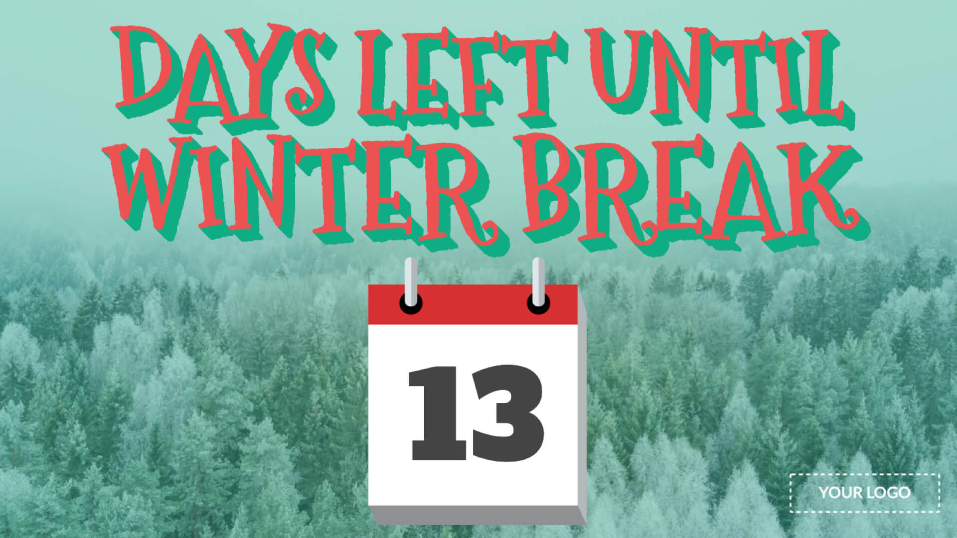 Winter Break Countdown