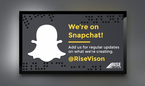 Snapchat Promotion