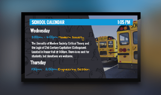 Education Calendar