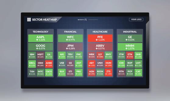 Heatmap Full Screen - No Ticker