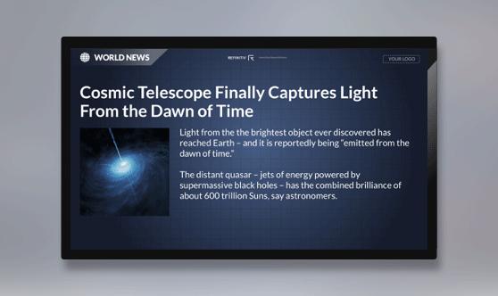 Reuters Top News Full Screen - No Ticker