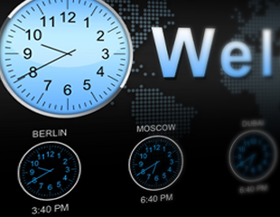 widget worldclock image Home Featured