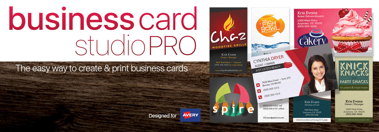 Business Card Studio Pro Software by Summitsoft