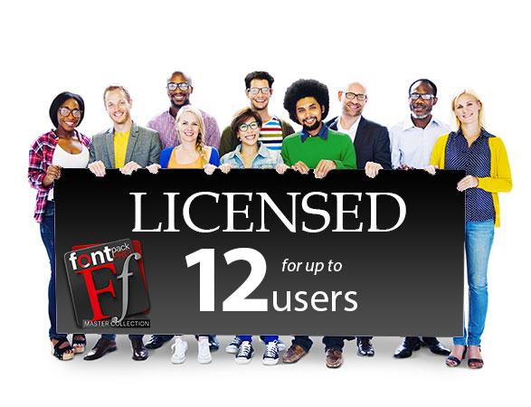 FontPack Pro - 12 licenses