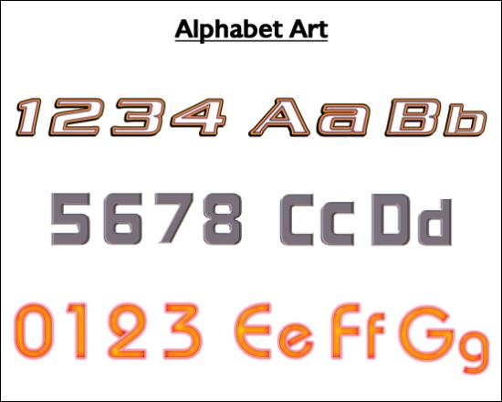 Logo Design Dictionary - Alphabet Art