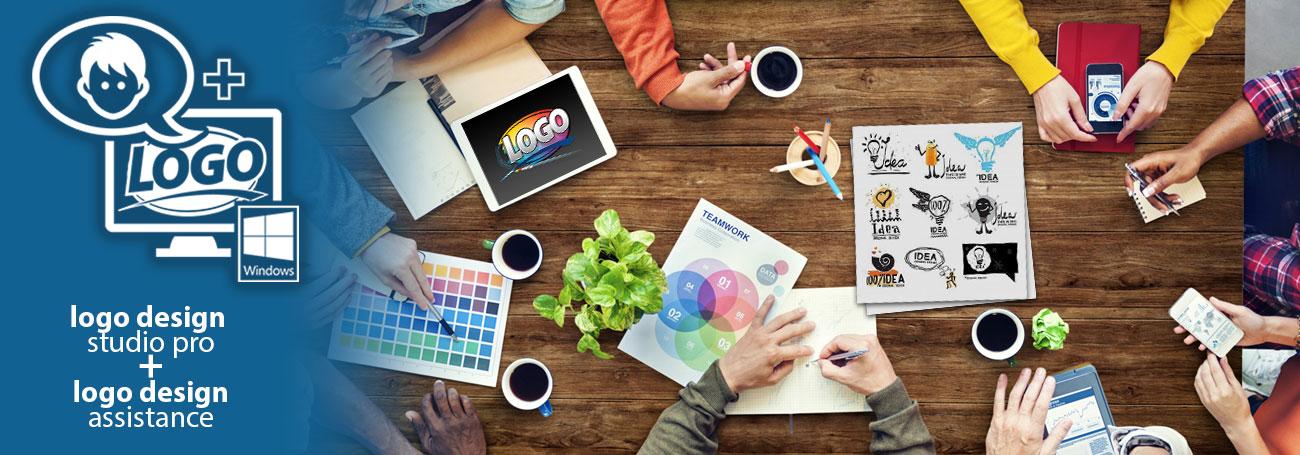 Logo Design Pro + Logo Design Assistance