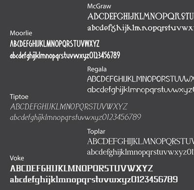 Cutting Edge 2 Premium Content Pack font sample