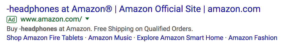 Expanded Text Ads Amazon