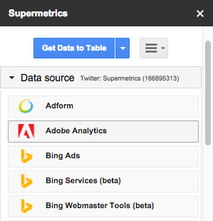 New in Supermetrics: Adobe Analytics Connector