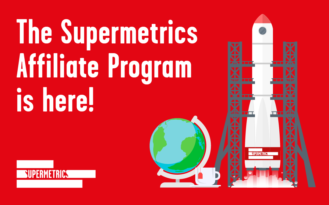 Supermetrics Launches Super Affiliate Program