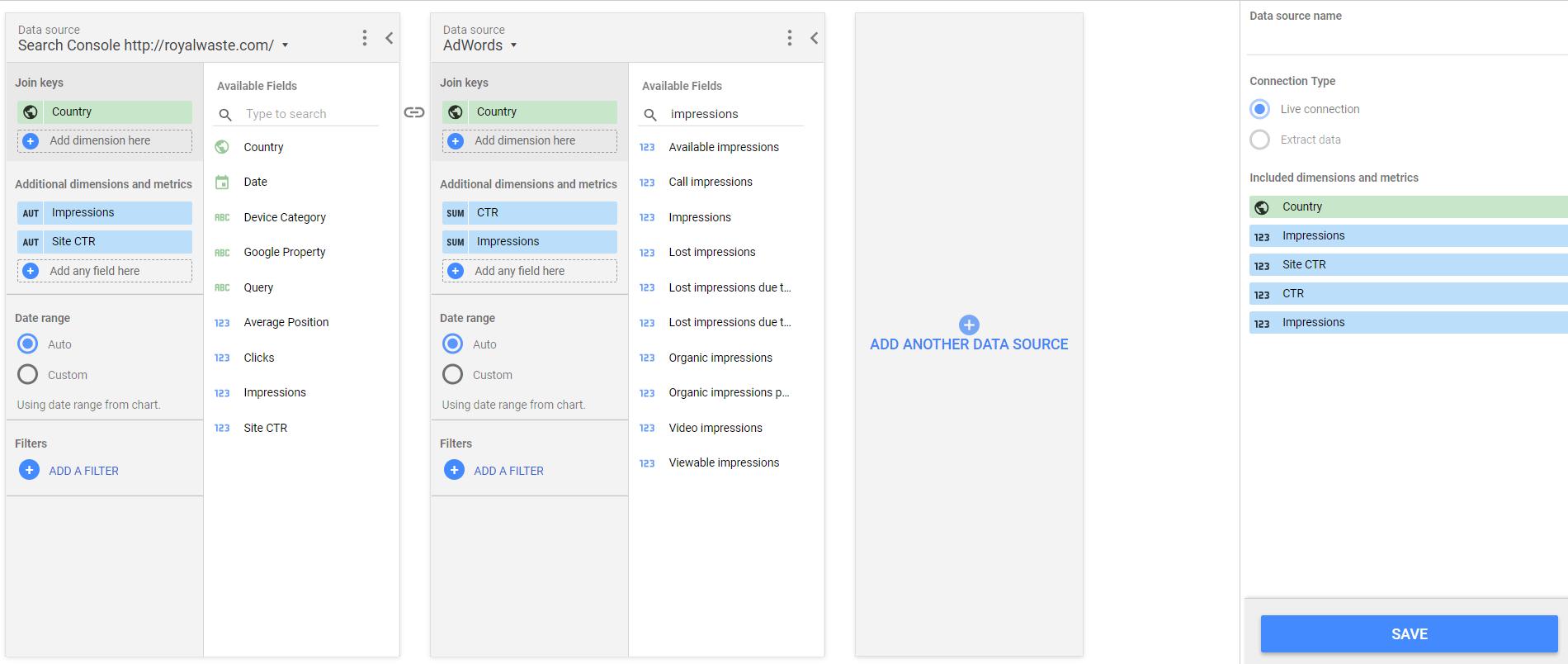 manage blended data multiple sources