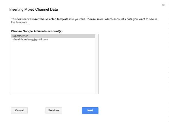Creating Data Studio Dashboard with Adwords,Facebook,Twitter & Bing