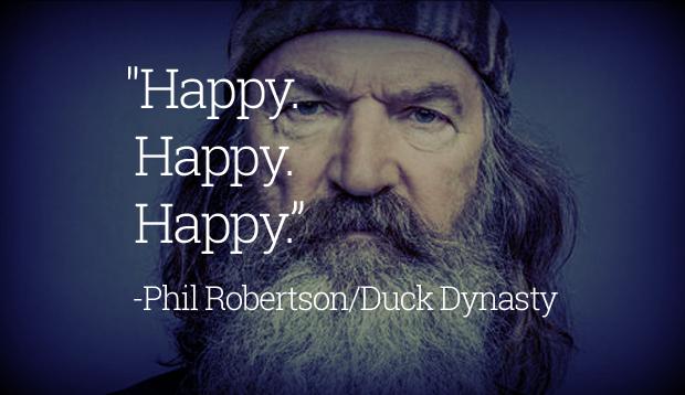 Happy. Happy. Happy.