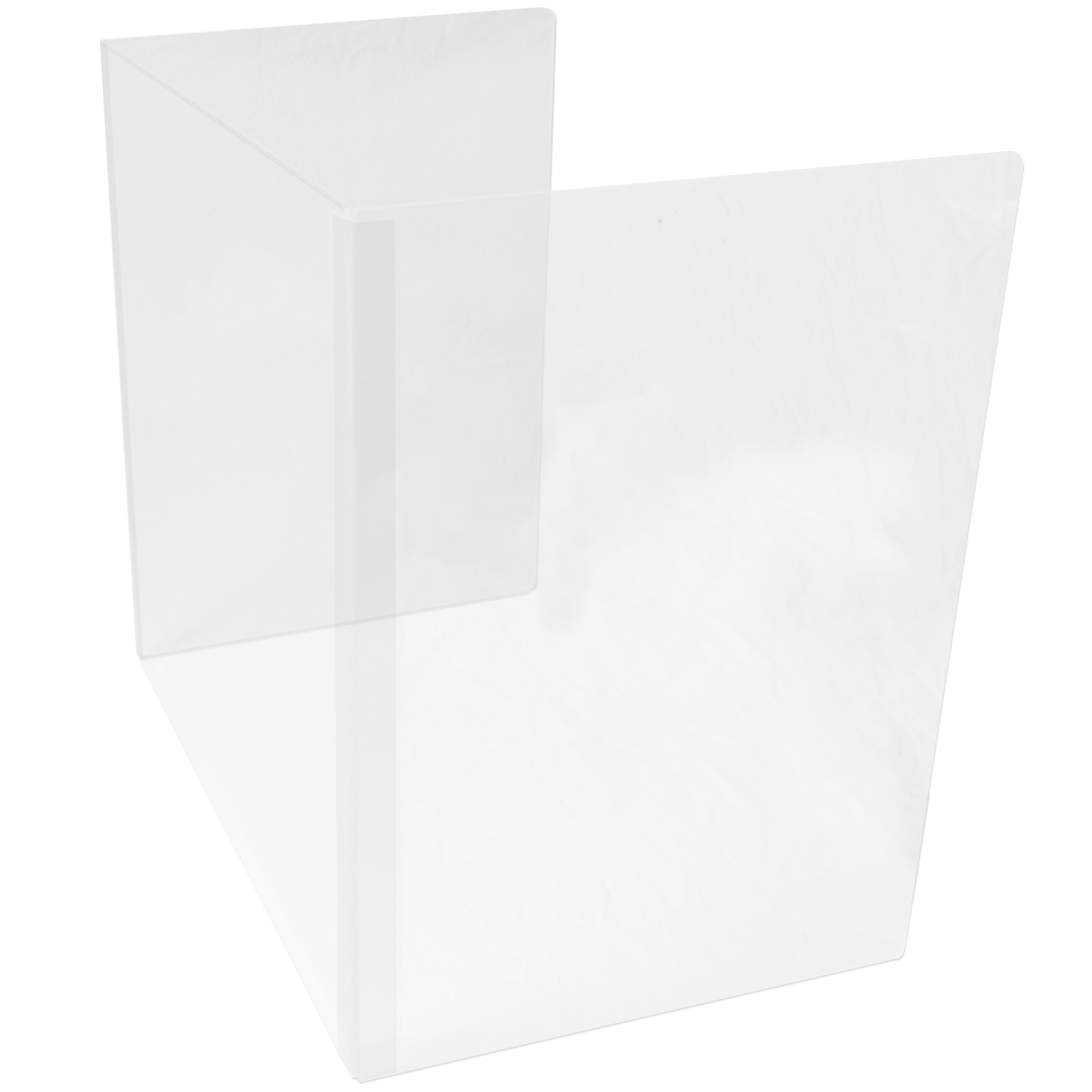 Folding School Desktop Shield