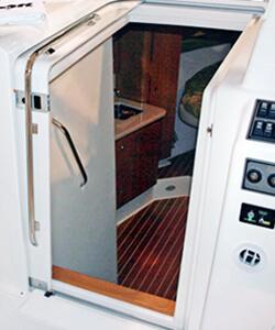 Teak Isle 187 Products 187 Marine 187 Sliding Cabin Entry Doors