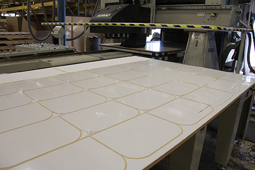 Protective Control Face Shield Production 1