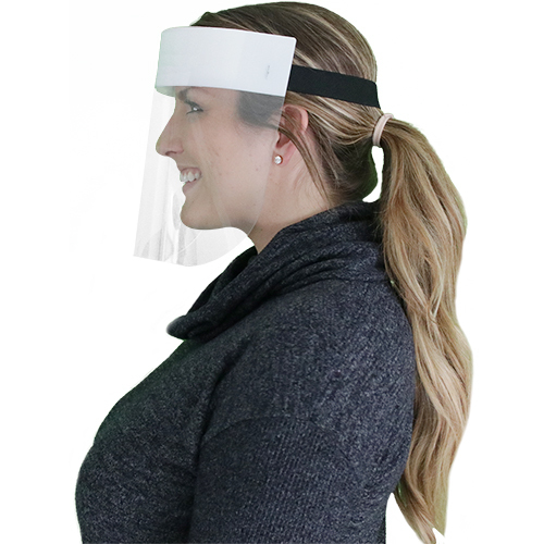 Protective Control Face Shield Side