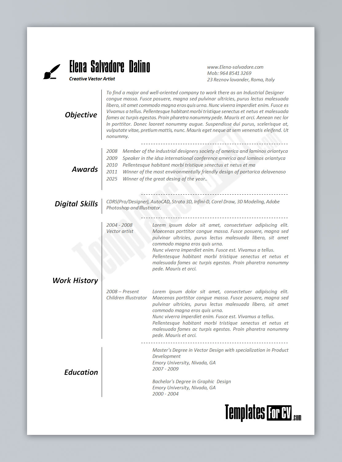 Resume Template Sample Resume Word Format Resume Examples Sample Resume In  Word Regarding Free Samples Dravit