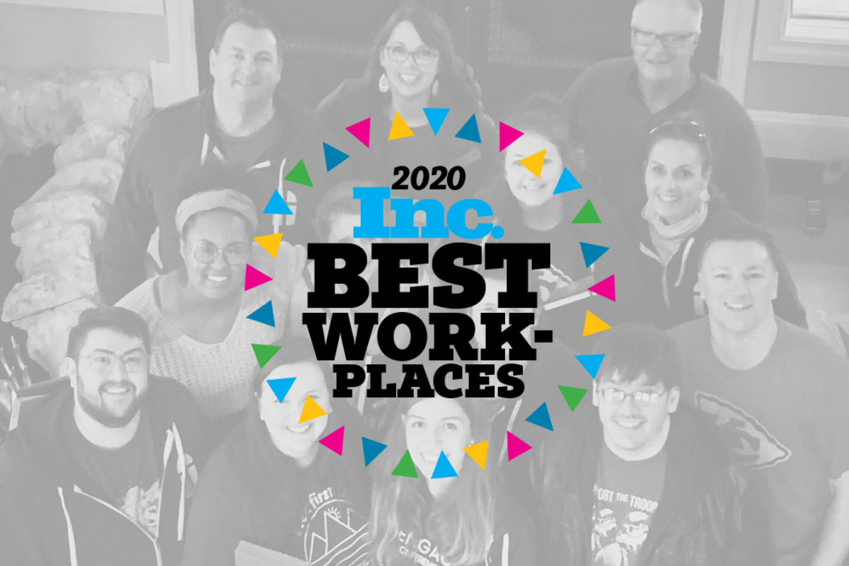 Featured Image for Text In Church Named One of Inc. Magazines Best Workplaces of 2020