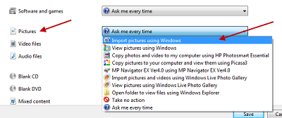 How to use microsoft windows xp's scanner and camera wizard to.