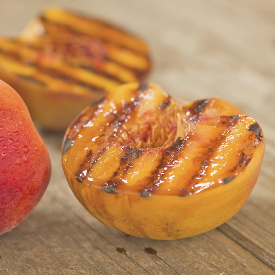 Grilled Peaches Recipe — Dishmaps