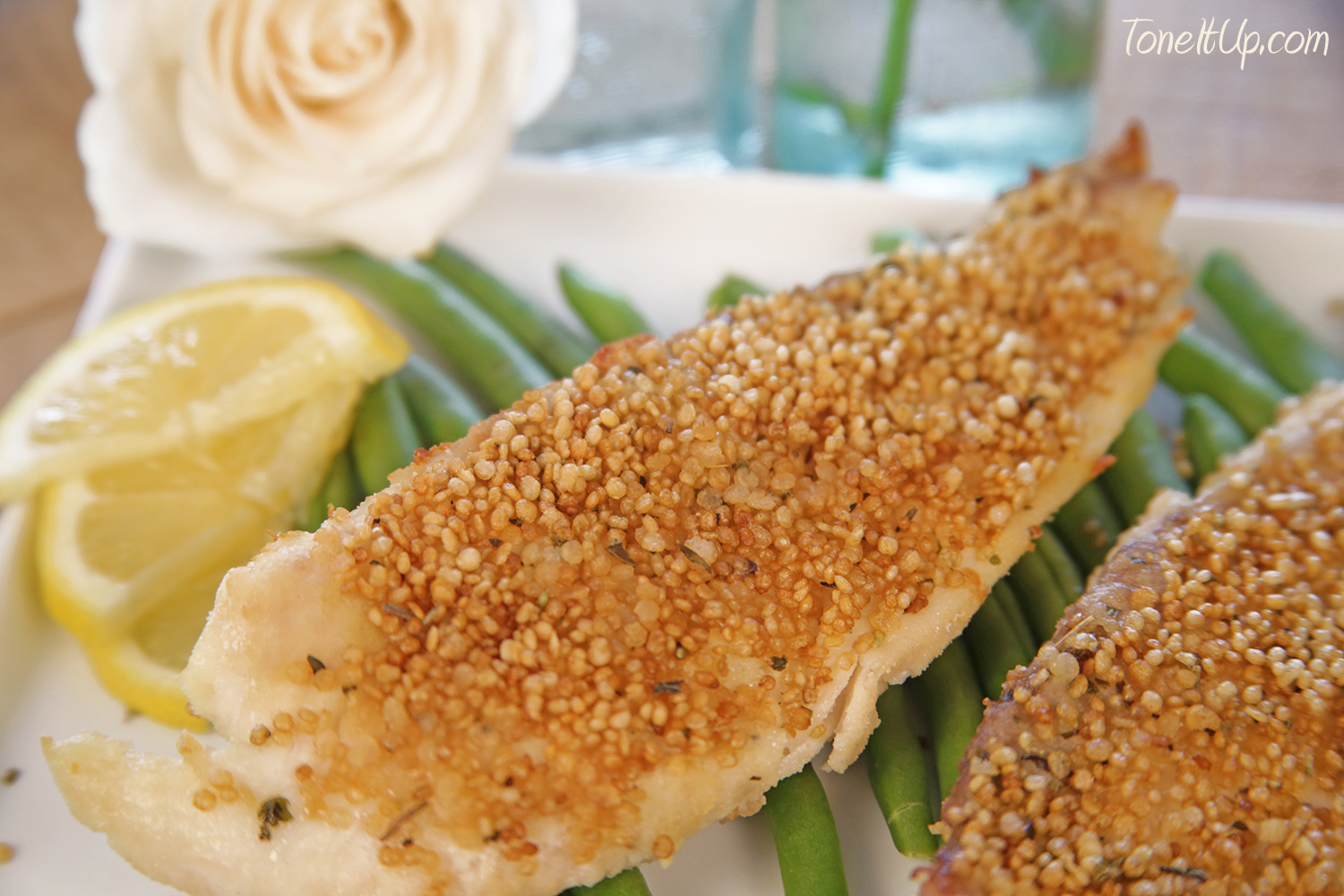 4 delicious new quinoa crisp recipes for Delicious fish recipes