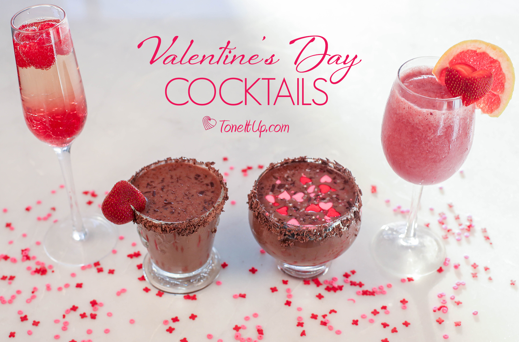 tone it up approved valentines day cocktails toneitupcom