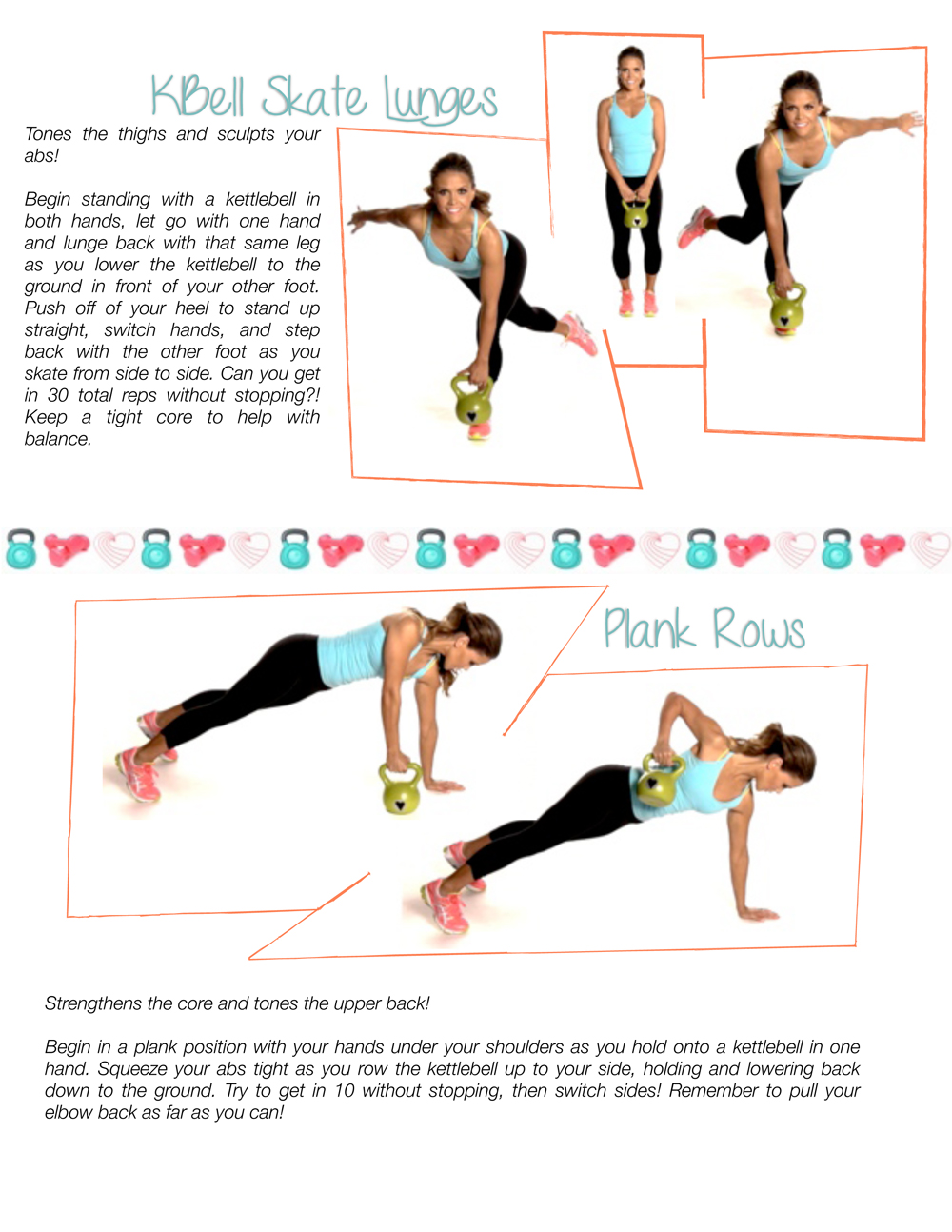 graphic about Printable Kettlebell Workout named Kettlebell Exercise routine Kettlebell Printable Work out: Skate
