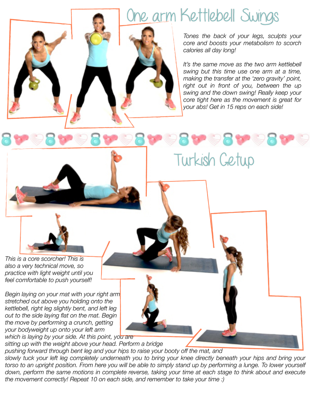 image regarding Printable Kettlebell Workout identify Ab muscles Buns with Kettlebells -