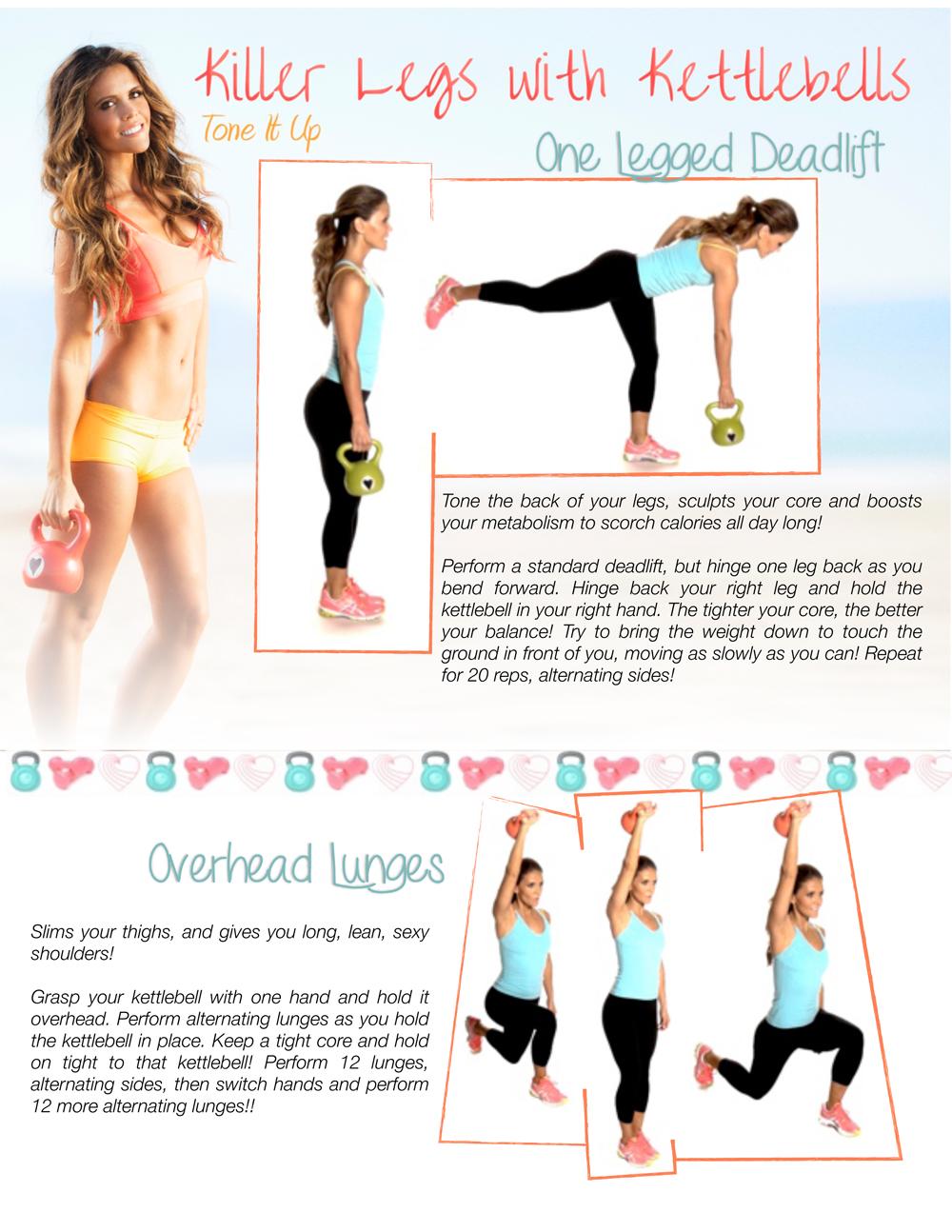 graphic relating to Printable Kettlebell Workout named Killer Legs with Kettlebells -