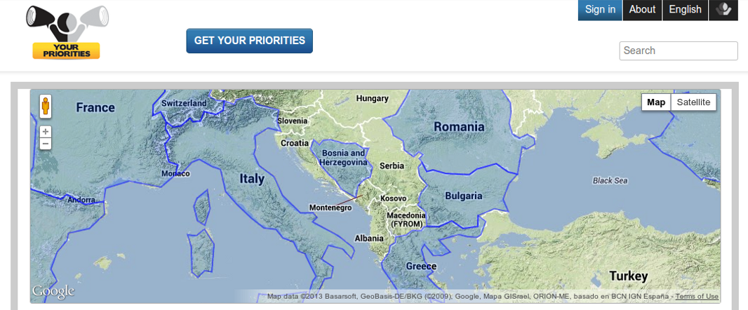 Balkan eDemocracy Bootstrap Project