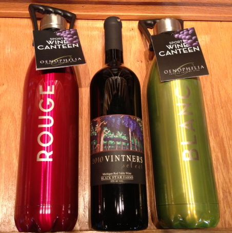 Traverse Traveler Gift Guide 2012 wine canteens
