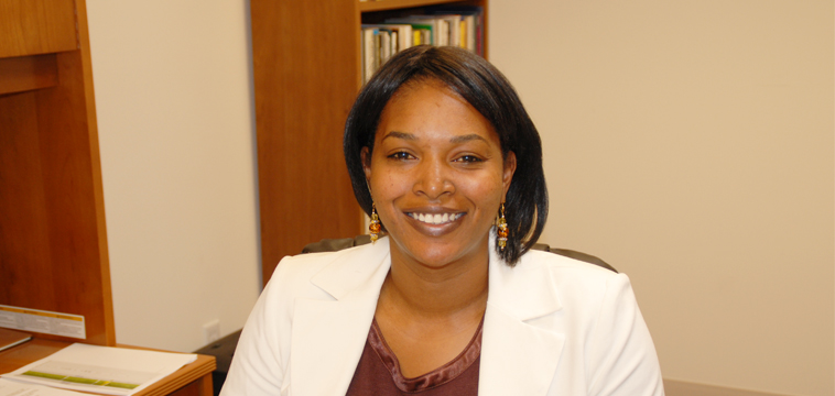 Maisha Franklin, Technical Services Administrator. Torrance, California.