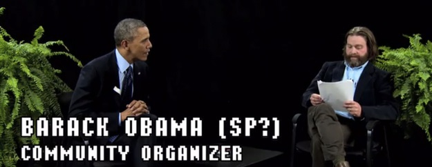 Between Two Ferns with Zach Galifianakis and President Obama