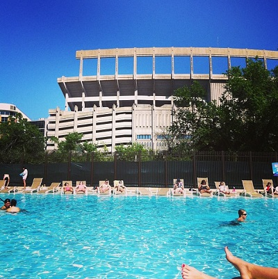 Ucampus Gregory Gym Outdoor Pool In Austin University Of Texas At Austin