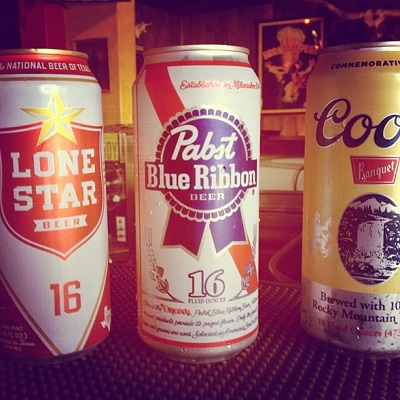 White Trash Wednesday, $2 Tall Boys