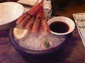 Sweet Shrimp Sashimi
