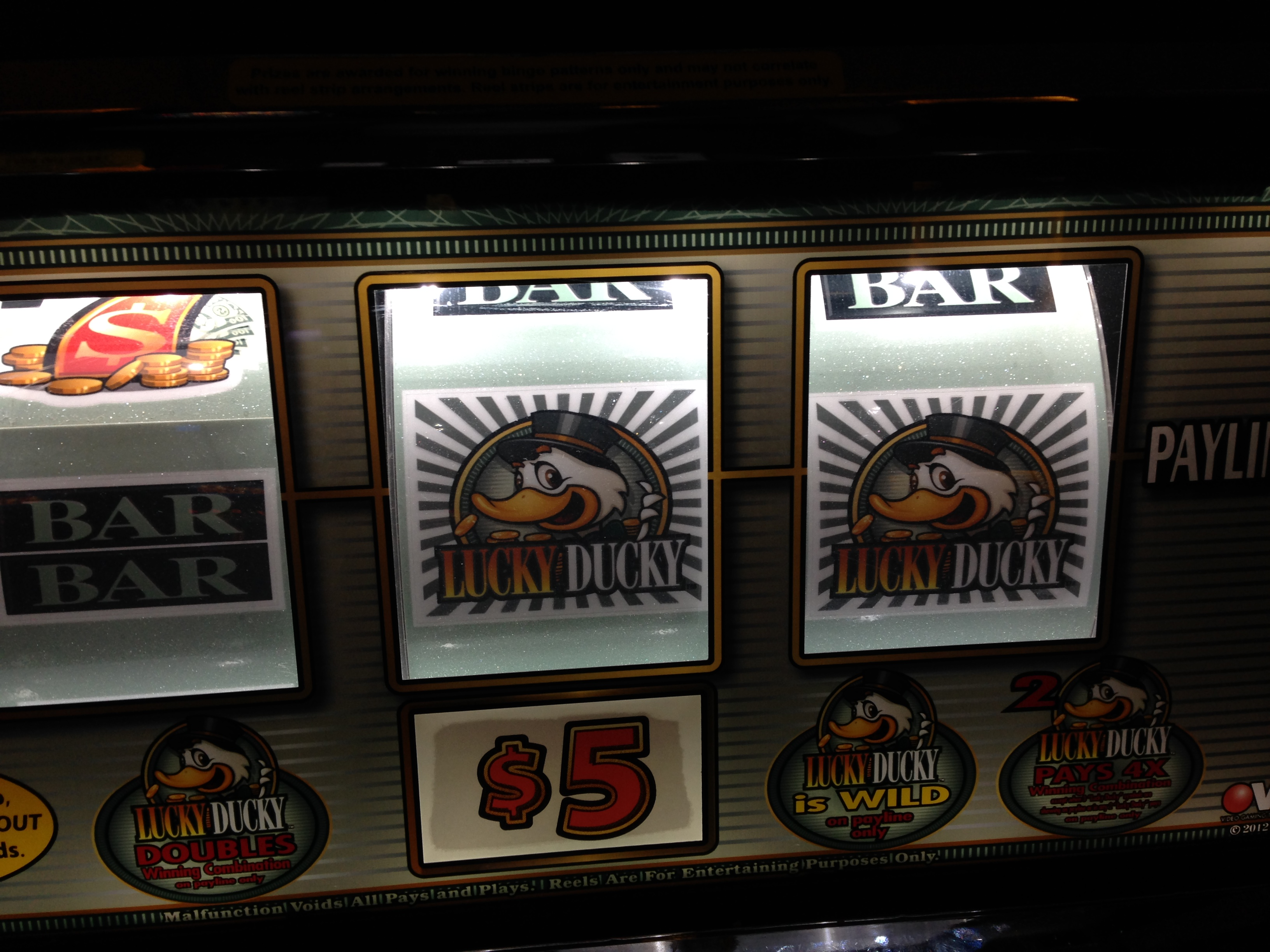 Best paying slots at winstar casino
