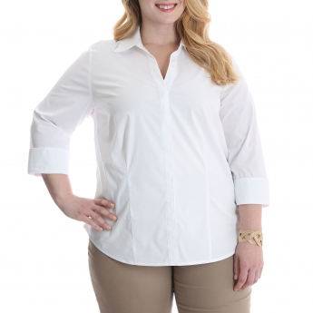 EZB1MUW - Easy Care 3/4 Sleeve Shirt