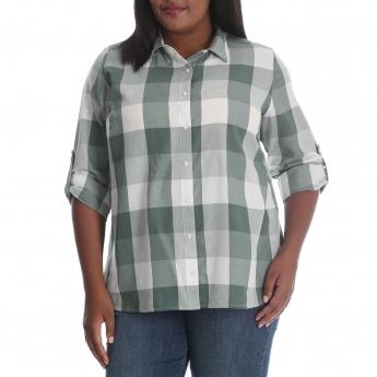 SLP1MVG - Buffalo Plaid Shirt